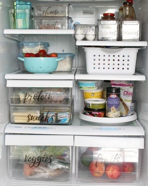 12 chiêu sắp xếp tủ lạnh thông minh, tiết kiệm diện tích