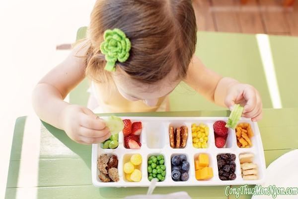 12 mẹo làm đồ ăn hay cho nhà có trẻ nhỏ