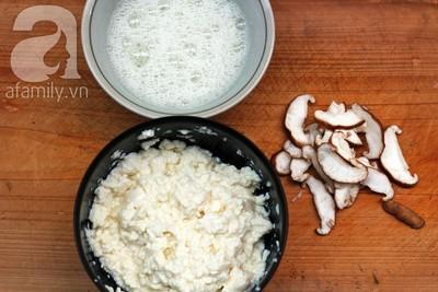 4 bước nhanh chóng làm đậu phụ hấp trứng thơm ngon