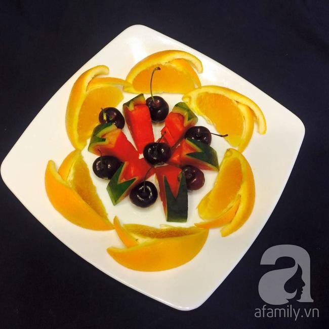 6 cách bày đĩa trái cây dễ mà siêu xinh cùng cả nhà đón năm mới rực rỡ