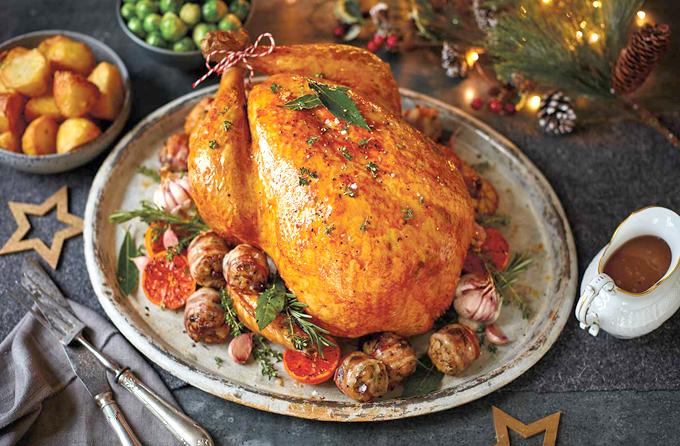 7 lưu ý nướng gà tây ngon, da vàng cho đêm Giáng sinh