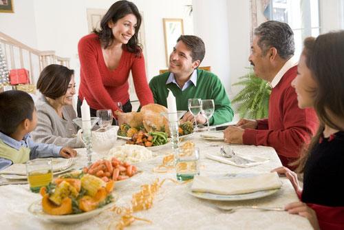 Bí quyết để có những bữa ăn gia đình thân mật