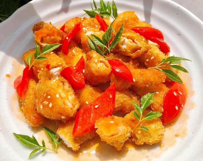 Cá basa giòn sốt chua ngọt