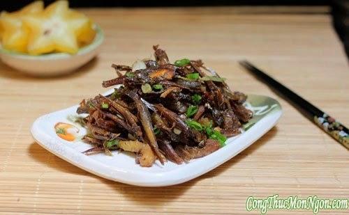 Cách chọn, ngâm và chế biến thực phẩm khô