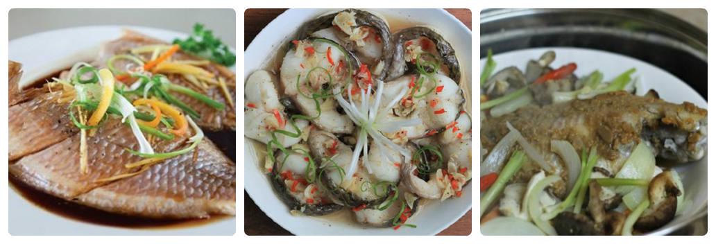 Cách làm 3 món cá hấp thơm ngon, bổ dưỡng