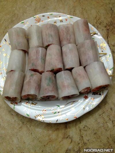 Cách làm món củ cải cuộn thịt hấp đậm đà, thơm ngon