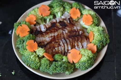 Cách làm món phi lê cá hấp bông cải xanh nhanh mà ngon