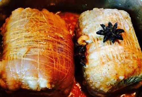 Cách làm thịt ba chỉ bó ướp ngũ vị ngon ngất ngây