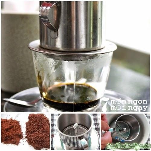 Cách pha cà phê ngon đậm đà béo ngậy