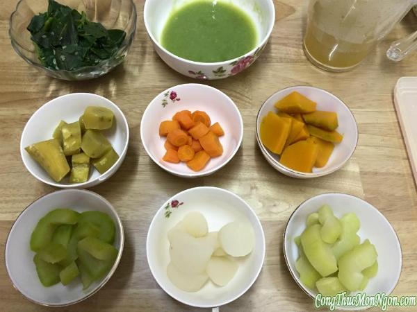 Cẩm nang ăn dặm Nhật - Việt cho bé 5-6 tháng