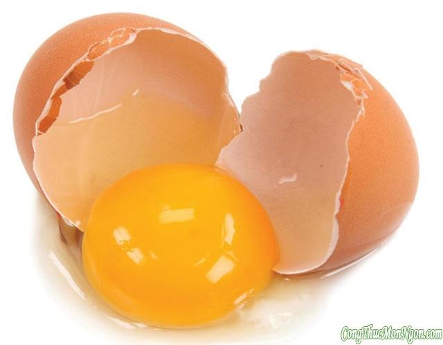 Cần lưu ý khi ăn trứng