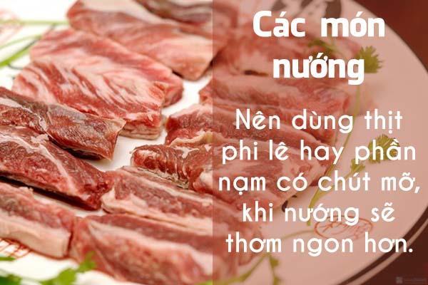 Chọn thịt bò thật chuẩn cho từng món ăn