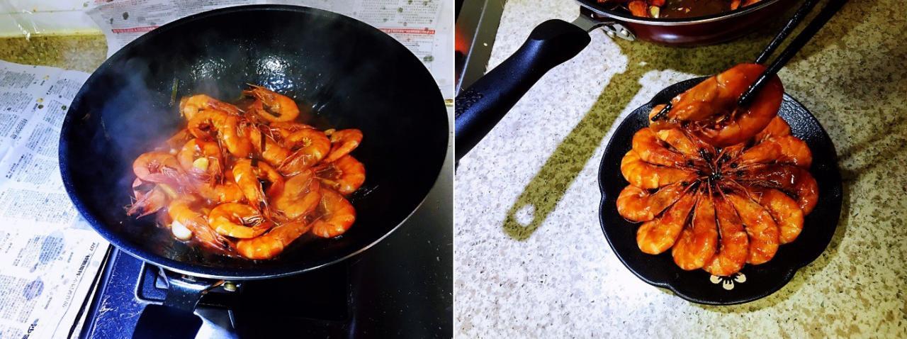 Con gái tôi thích nhất là món tôm xốt cà chua mẹ làm, và đây là công thức