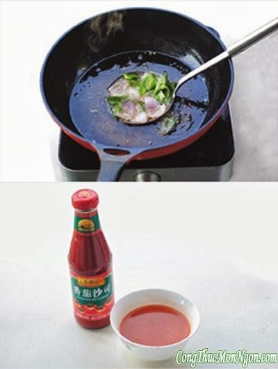 Công thức món thịt thăn heo xốt chua ngọt