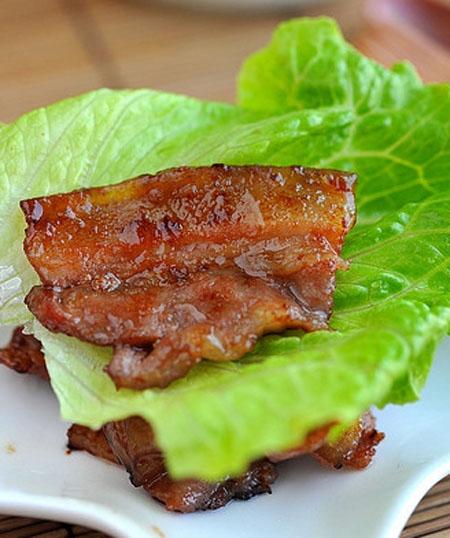 Công thức ướp thịt nướng kiểu Hàn (1)