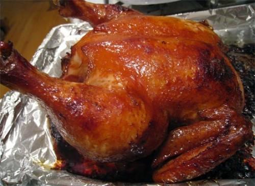 Cuối tuần làm gà nướng ngũ vị đãi cả nhà