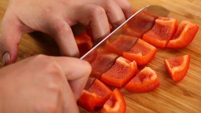Đậu phụ sốt chua ngọt càng ăn càng thấy ngon