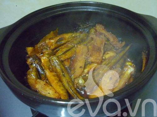 Đơn giản món cá bống kho tiêu