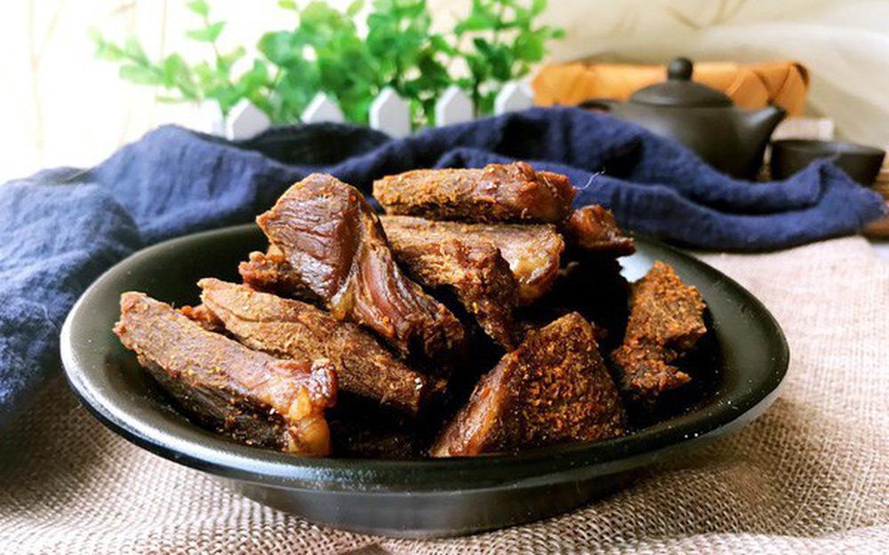 Dùng nồi cơm điện để làm thịt bò khô: Vô cùng dễ - nhanh và ngon