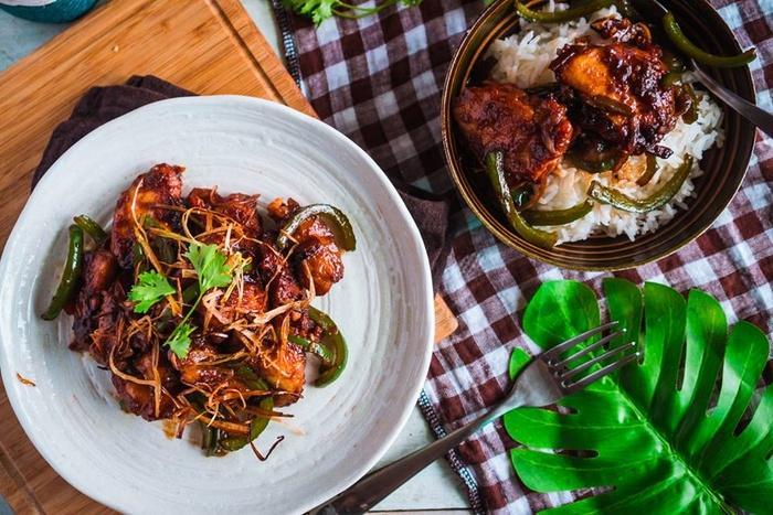 Gà chiên xào cay ngọt kiểu Trung Hoa - Công thức mới toanh ăn là nghiền