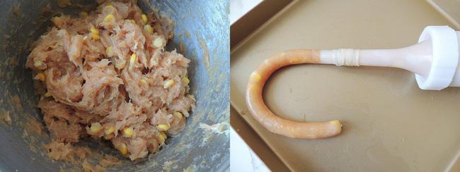 Làm sẵn xúc xích gà, khách đến nhà luôn sẵn sàng có đồ ăn Tết này!