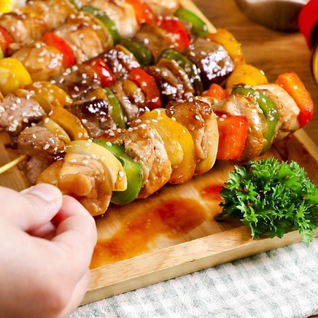 Mách chị em cách làm món thịt xiên nướng thơm ngon, hấp dẫn: Cả trẻ con lẫn người lớn đều mê, hội đang ăn kiêng cũng có thể chén thoải mái!