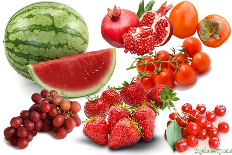 Màu sắc của rau củ đối với sức khỏe