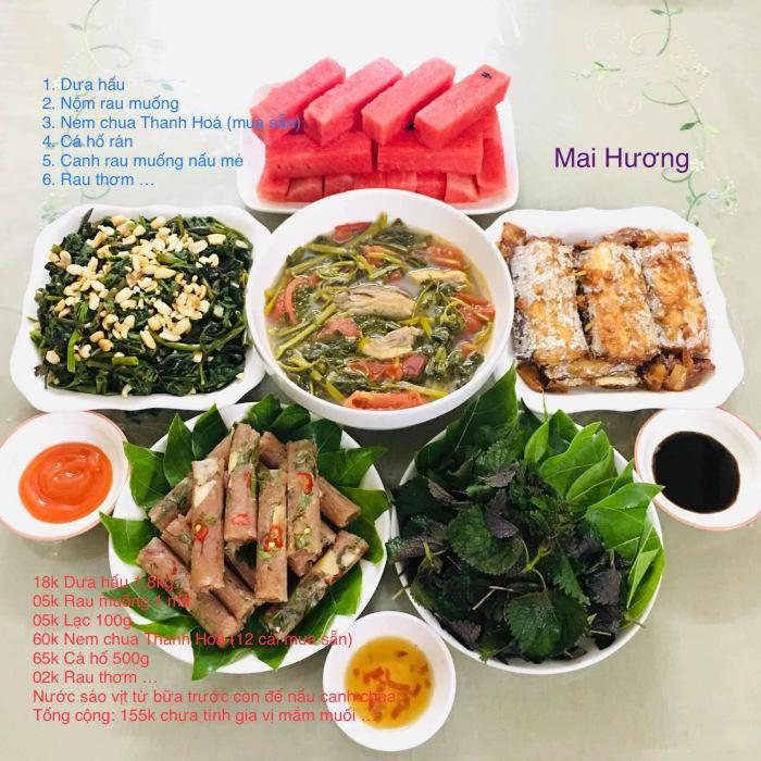 Mẹ đảm nấu 30 mâm cơm mùa dịch, bữa nào cũng 4-6 món ngon lại vừa tiền, siêu bổ dưỡng