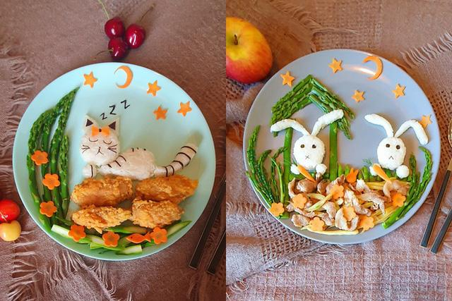 """Mẹ Việt ở Ba Lan trổ tài """"vẽ tranh"""" bằng thực phẩm, đẹp không nỡ ăn"""