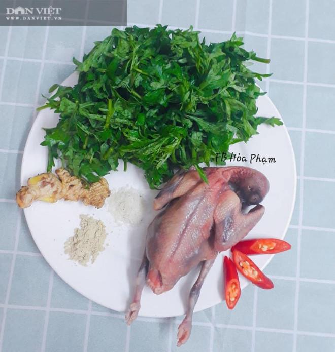 Mẹo nấu chim bồ câu hấp ngải cứu tam thất không tanh, không đắng