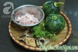 Món Ngon: Bí nhồi thịt hấp