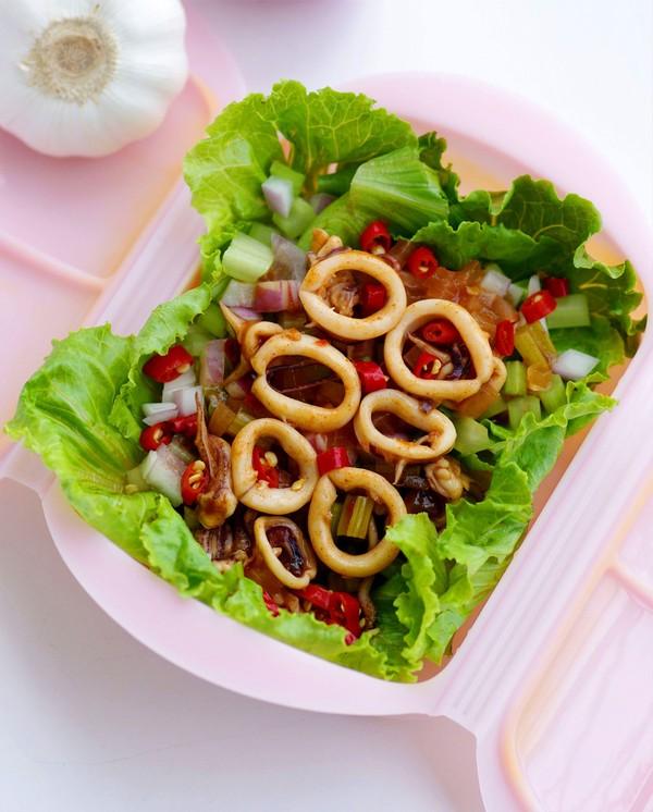 Món ngon ngày mưa: Mực hấp kiểu Thái