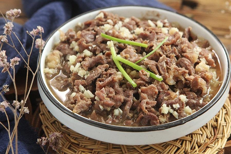Muốn giảm cân nhất định bạn không thể bỏ qua món bò hấp nấm làm cực dễ mà ăn siêu ngon này