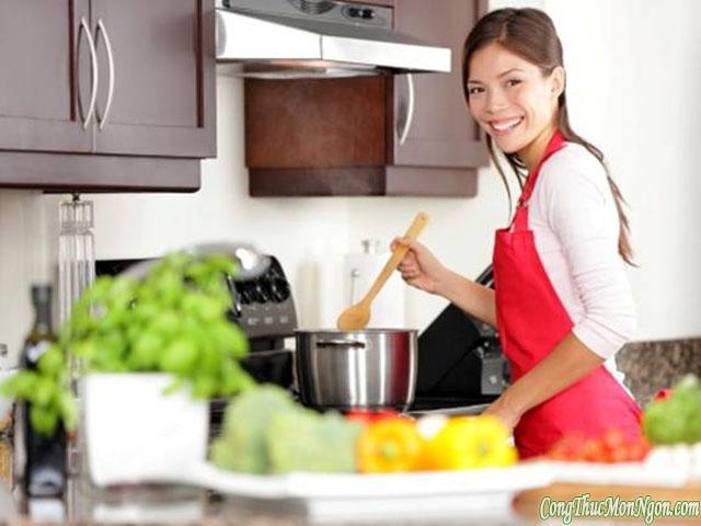Nấu nướng đúng cách