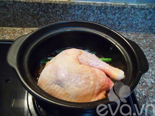Ngon cơm với gà om xì dầu