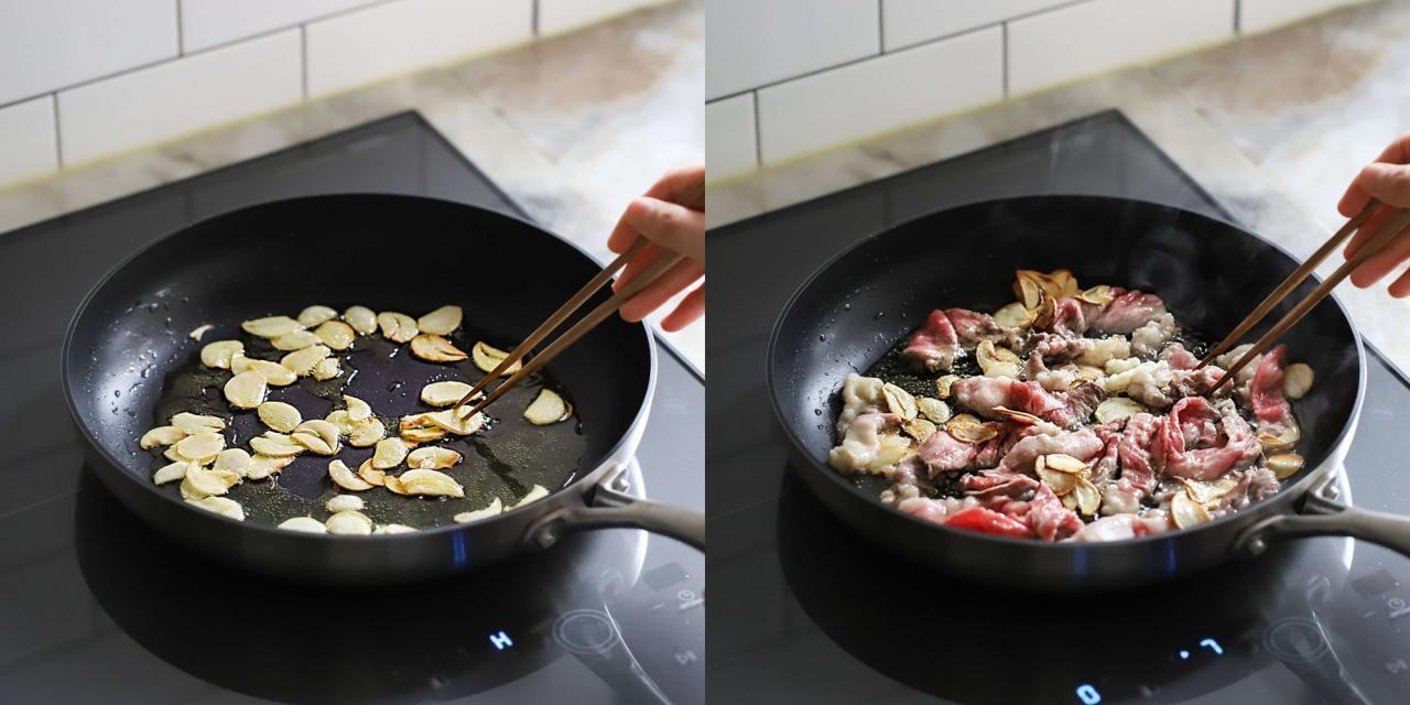 Người Hàn có cách làm mì xào bò ăn ngon lạ miệng lắm, thử một lần chồng tôi khen tấm tắc!