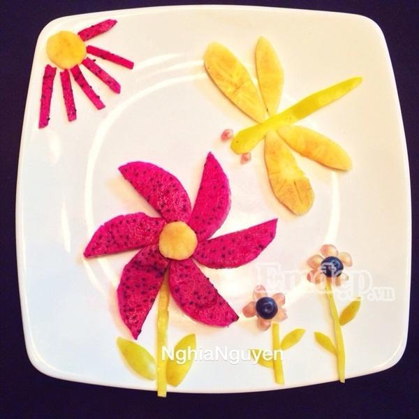 Những kiểu trang trí lạ mắt từ hoa quả cho ngày 20/10 thêm rực rỡ