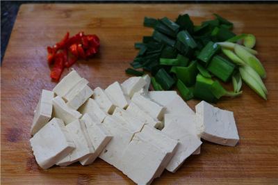 Thêm một cách làm đậu phụ sốt mặn đậm đà ngon cơm