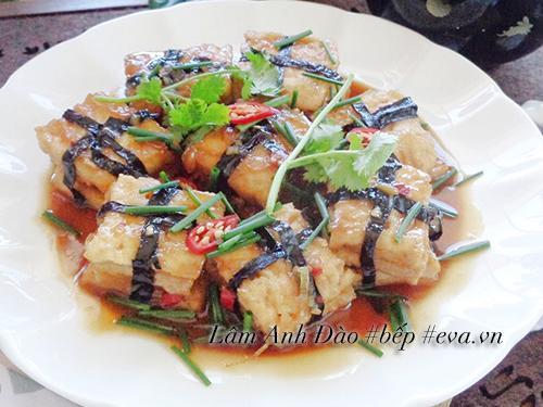 Thịt chay kho tàu đơn giản mà ngon cho ngày đầu tháng Âm lịch