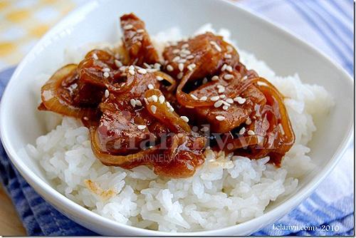 Thịt Heo Xào Mặn