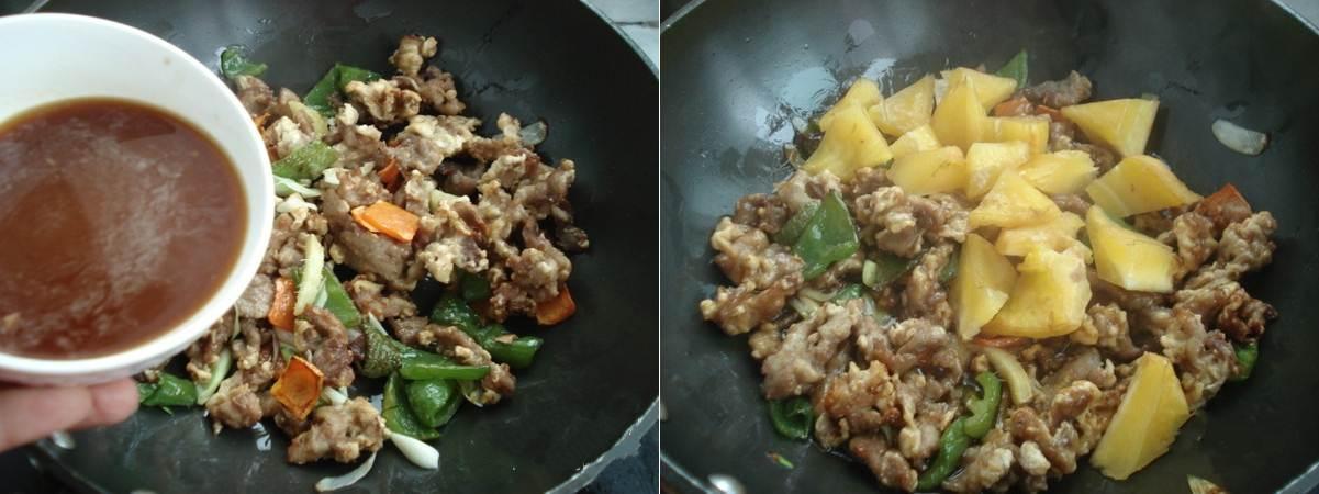 Thịt thăn xào khế cho hương vị cực mới lạ
