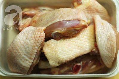 Thơm ngon đậm đà món gà hấp muối