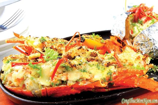 Thực đơn 4 món hải sản đãi khách