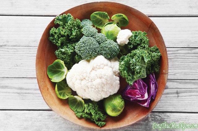 Thực phẩm cân bằng hormone tự nhiên