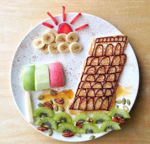 Trình bày món ăn theo phong cách truyện cổ tích