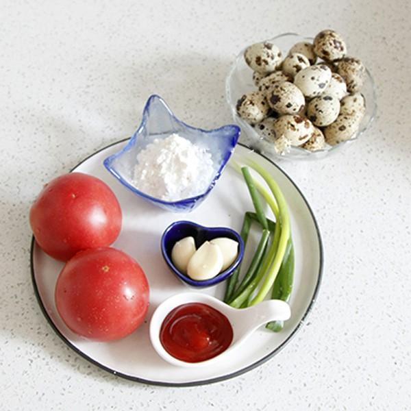 Trứng cút sốt cà chua ngon khó cưỡng