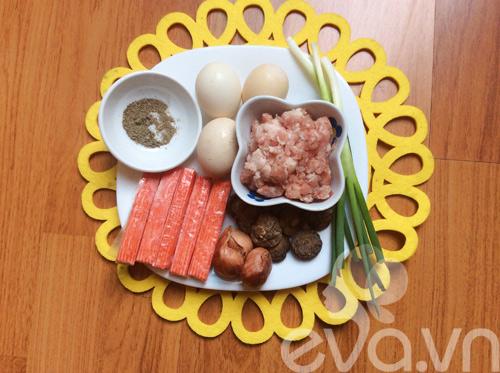 Trứng hấp thanh cua ngon miệng, đẹp mắt