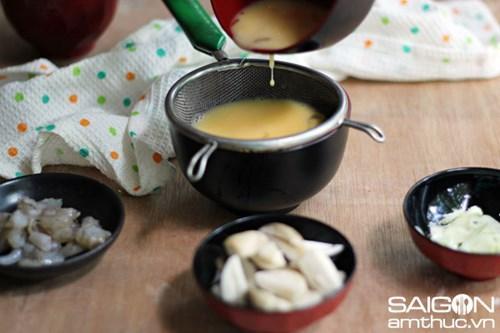 Trứng hấp tôm nấm kiểu Hàn Quốc lạ miệng cực hấp dẫn